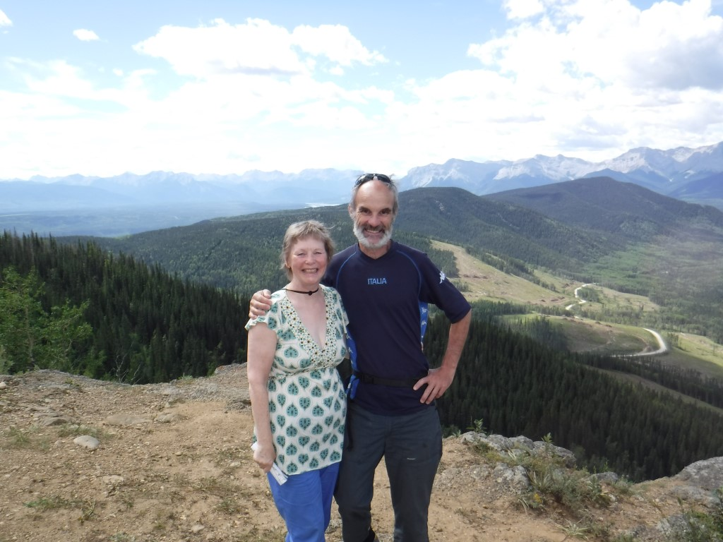 Athabasca lookout between Hinton and Jasper.