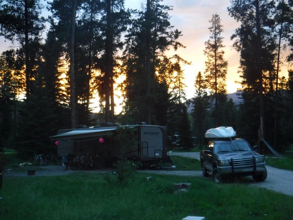 Campsite at Jasper.