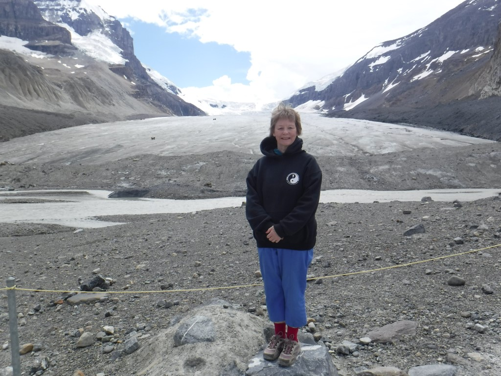 The Athabasca Glacier.